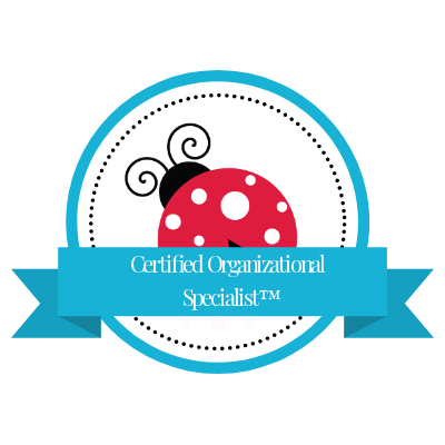 ClutterBug Certified Organizational Specialist